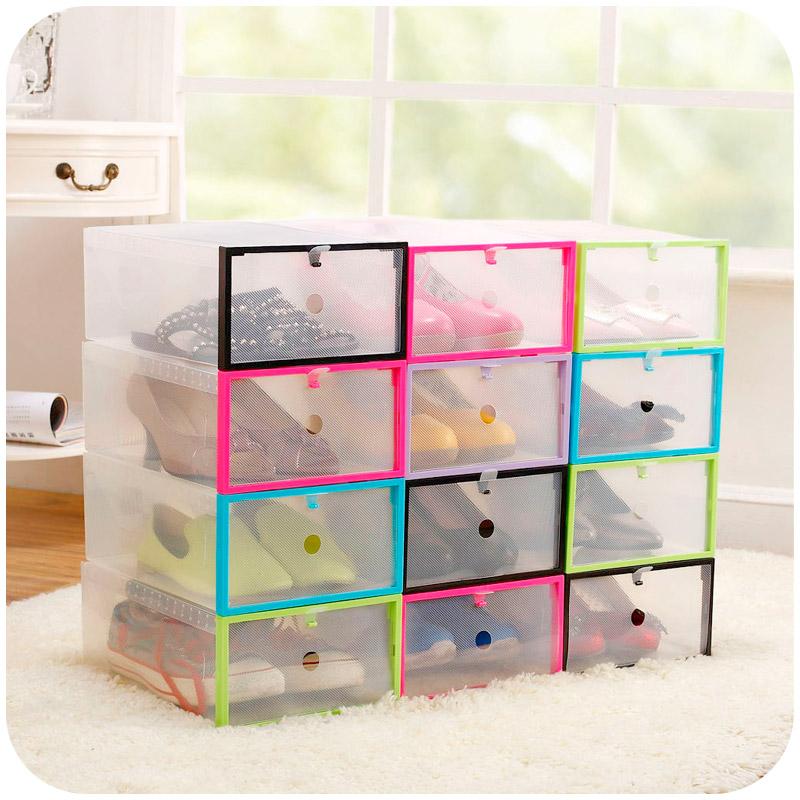 Compra cajas de pl stico para zapatos online al por mayor - Cajas transparentes para zapatos ...