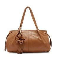 Free Shipping High Quality Fashion Lady Genuine Leather Handbag