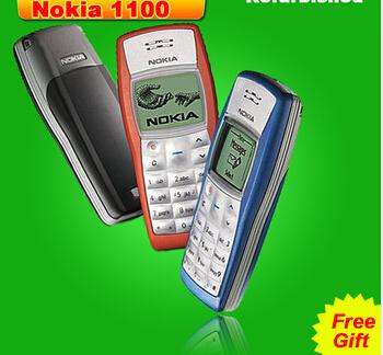 Wholesale 1110 Original Unlocked Nokia 1110 Mobile phone Dualband Classic GSM Refurbished Cell phone 1 year warranty(China (Mainland))
