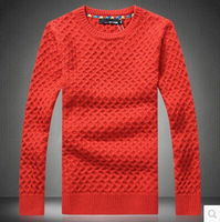 Hot selling 2014 New Winter Menswear Fashion Han edition Cultivate one's morality Leisure city boy cord Knitting a Sweater