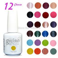 (Choose 12pcs)Professional Soak Off Gel Polish Long Lasting Gorgeous Colors The Best UV Nail Gel Polish Lacquer Set