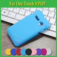 1X Ultra-Thin Frosted Matte Hard PC Cover Case For Alcatel One Touch S'POP SPOP S POP OT 4030 OT4030 4030D