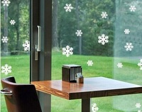 2014 New  Arrival christmas snowflake 6cm christmas Decoration for Trees / Windows / Showcase
