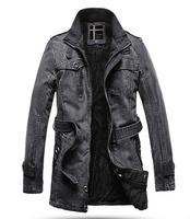 TUCM15025, 2014 new stand collar plus size cotton men winter jacket,thick warm cotton jacket man free shipping
