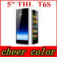 "THL T6S T6 PRO 5.0"" 1280x720 HD IPS MTK6592M Octa Core Android 4.4 8MP Camera 1GB RAM 8GB ROM 3G WCDMA Dual SIM FM GPS Phone"