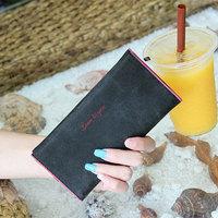 Card Holder Purse Women Clutch Wallet Ladies Korean Style PU Leather Fashion Buckle Hasp Female Mini Handbag Multi Color