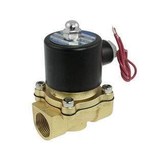 """Holiday Sale mini 1/4"""" Electric Solenoid Valve 12V DC Air Gas Valves With Low Price(China (Mainland))"""