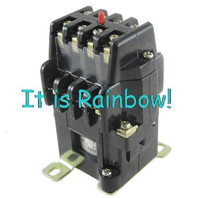 Free Shipping 380V 5A 4 NO NC Electromagnetic Relay AC 110V Coil Voltage(China (Mainland))