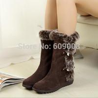 New arrive winter snow boots women shoes cotton boots student lovers paragraph cotton-padded shoes platform