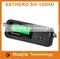Original Sathero SH-100HD Pocket Digital Satellite Finder Satellite Meter HD Signal Sat Finder with DVB-S2 USB 2.0