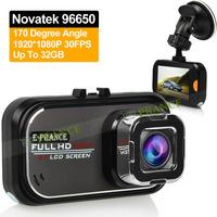 E-prance New Original AT288 Video Registrator Car Camera Recorder Full HD Novatek 96650 170Degree Advanced WDR SOS Parking Guard