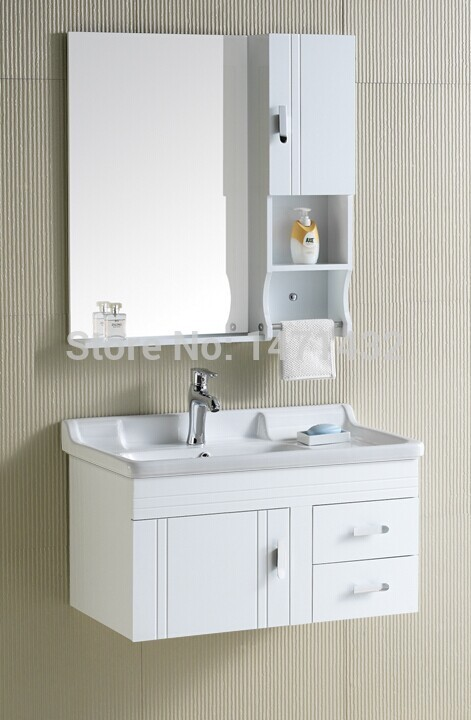 Bathroom cabinet PVC bathroom furniture wholesale agent fitting(China (Mainland))