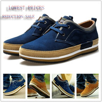 New England sneakers men shoes spring/autumn tide brand men's casual shoes men's suede leather factory outlets Genuine Leather