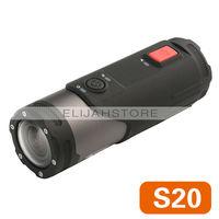 Sport Action Camera Sport DV S20 1080P FULL HD Waterproof Underwater Camcorder Helmet DVR S20 Free Shipping