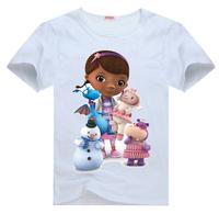 Doc McStuffins and Friends Tee t shirt for toddler kids children  Boy Girl t shirt cartoon t-shirt
