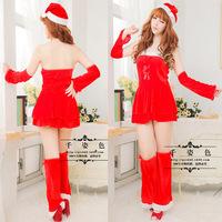 Sexy uniform new Christmas evening clothes, stage costume, nightclub club KTV costumes