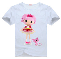 Lalaloopsy Tee t shirt for toddler kids children  Boy Girl t shirt cartoon t-shirt