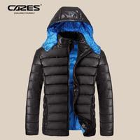Card 2014 male winter outerwear short design male slim thin down coat hooded men's clothing down coat winter jacket men