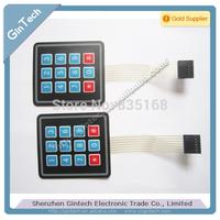 free shipping 5pcs/lot  Tactile Scratch 3*4  12 touch keyboard  3X4 keyboard 3*4 matrix keyboard