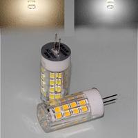 2pcs G4 51-LEDs 2835 SMD 4W 350lm Pure / Warm White 3000-600K LED Candle Light bulb lamp AC 200-240V
