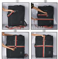 "2pcs/lot Width 2"" Rainbow Color Travel Luggage Suitcase Baggage Carrier Belt Strap Adjustable 32ft"