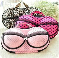 2014 Hot Polyester Travel Portable Bra Bag 13 Colors Underwear Storage Bag Covered Bra Box Panties Socks