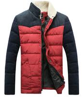 стиль отдыха с капюшоном чистый цвет дизайн плюс теплое пальто размер супер большой размер мужских пальто