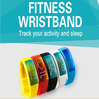 3D Pedometer Smart Watch Bracelet step counter Silicone Wristband Smart Hand Ring running pedometer SmartBand