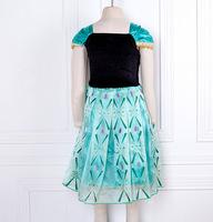 Brand Kids Baby Girls Princess Dress Lovely Stage Custom Clothing For 3-8T