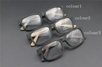 Vintage Acetate prescription eyeglasses Frame Full Rim Cat Eye for man women fashion optical myopia  frame eyewear Wooden  60097