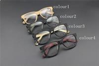 Vintage Acetate prescription eyeglasses Frame Full Rim Cat Eye for man women fashion optical myopia  frame eyewear Wooden  62148