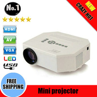 2014 NEW Arrival!UC30 HD Home Theater MINI Projector For Video Games TV Movie Support HDMI VGA AV Portable
