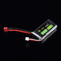 1pcs Lipo Battery Power A+ for Lion 7.4V 2S 1500mah 25C for Tamiya HSP RC Car Model
