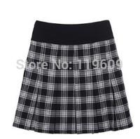 2014 Autumn Winter Women Skirts Large Plus Size Black White Skirts Mid Waist Ladies Elegant Casual Skirts 4XL,5XL,6XL,7XL