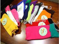 Free shipping 2014 girls children multicolor cotton  matching socks in the reactor Super elastic joker children's sock