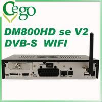 DM800se v2 SIM 2.20 wifi install DM800HD se v2 DVB-S2 TV Tuner HD Satellite Receiver 1GB Flash 521MB RAM HbbTV satellite finder