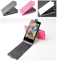 Hot Sale Doogee DG450 Case Luxury PU Leather Case for Doogee DG450 Open Up and Down Free Shipping