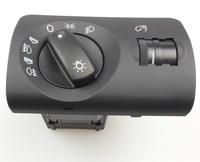 Car Headlight Lamp Switch Fog Control Auto Leveling Black Facelift 4B1 941 531 E / 4B1941531E for Audi A6 4B C5 AVANT S6