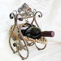 Ou, wrought iron wine frame Swing type of red wine Round basket type wine wine TYJJ - 031