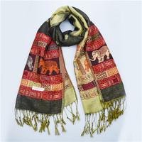JLB 2014 New Fashion Elephant Women's Winter Pashmina Scarf Wrap Shawl Scarves Free Shipping