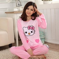 Sanrio Hello Kitty Women Pajama Sets Winter Dress Pajamas Cotton Pajama Women Sleepwear Pajamas for Women Onesies for Adults