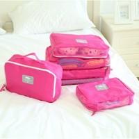 New Oxford Man Woman  Travel orgnizer Storage Bag (5pieces/lot)