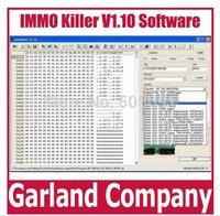 Free shipping IMMO killer V1.10 repair software immokiller 1.1 diagnostic software car immobilizer software immo killer 1.1