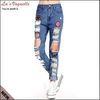2014 New High Waist Jeans Femme Vaqueros Mujer Designer Jeans Winter Jeans Super Quality Jeans Boyfriend For Women