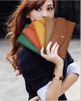 The 2014 purse female long paragraph change ob package letter packet candy 16 color bag
