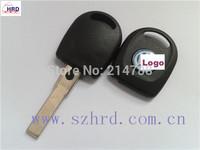 Car Key Blank Shell for Volkswagen B5 Key case for Passat Transponder Key Hu66 key cover for VW with light