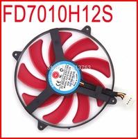NTK FD7010H12S 90mm DC BRUSHLESS FAN 12V 0.35A Graphics Card Cooling Fan ATi Radeon HD 7990