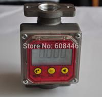 Digital Oval Gear Diesel Fuel Flow Meter 1~120L/Min
