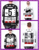 2015 autumn winter no.5 Harajuku hip hop cc SWEATER coco sports hoodies pullover Jumpsuit sweatershirt hoody Fleece clothes