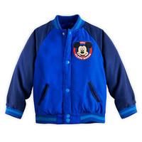 Retail Kids Jacket coat Mickey Boys Cardigan Jacket Zipper Hoodie Autumn Blue long-sleeved In stock Cartoon jacket